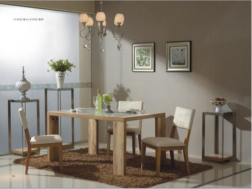 Home Civilian European Contemporary Furniture Modern Dining Room Sets