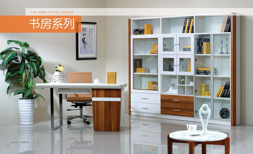 Modern Full Bedroom Furniture Sets / Wall Mounted Bookshelves